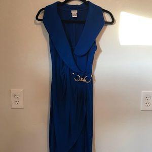 Caché Royal Blue Wrap Dress